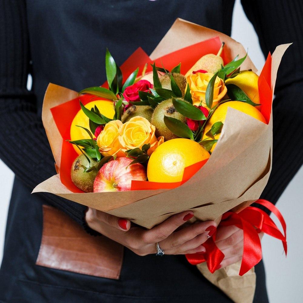 Фруктовый букет «Оранж Джус» 2