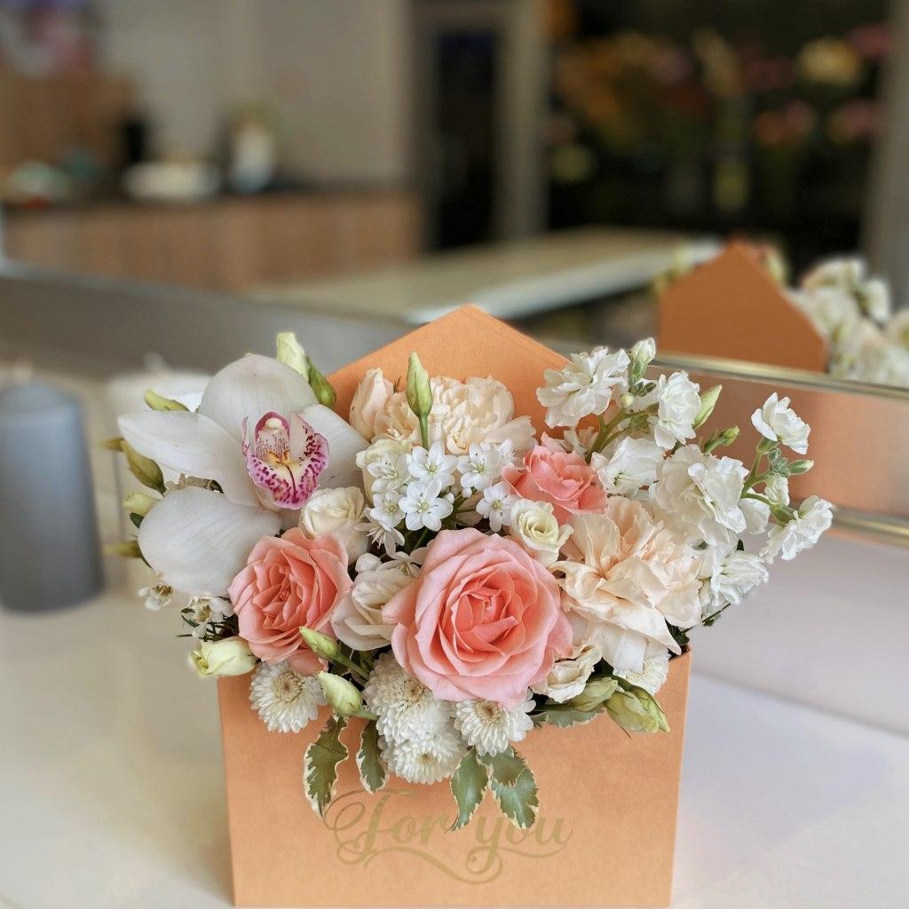 цветы в конверте 1