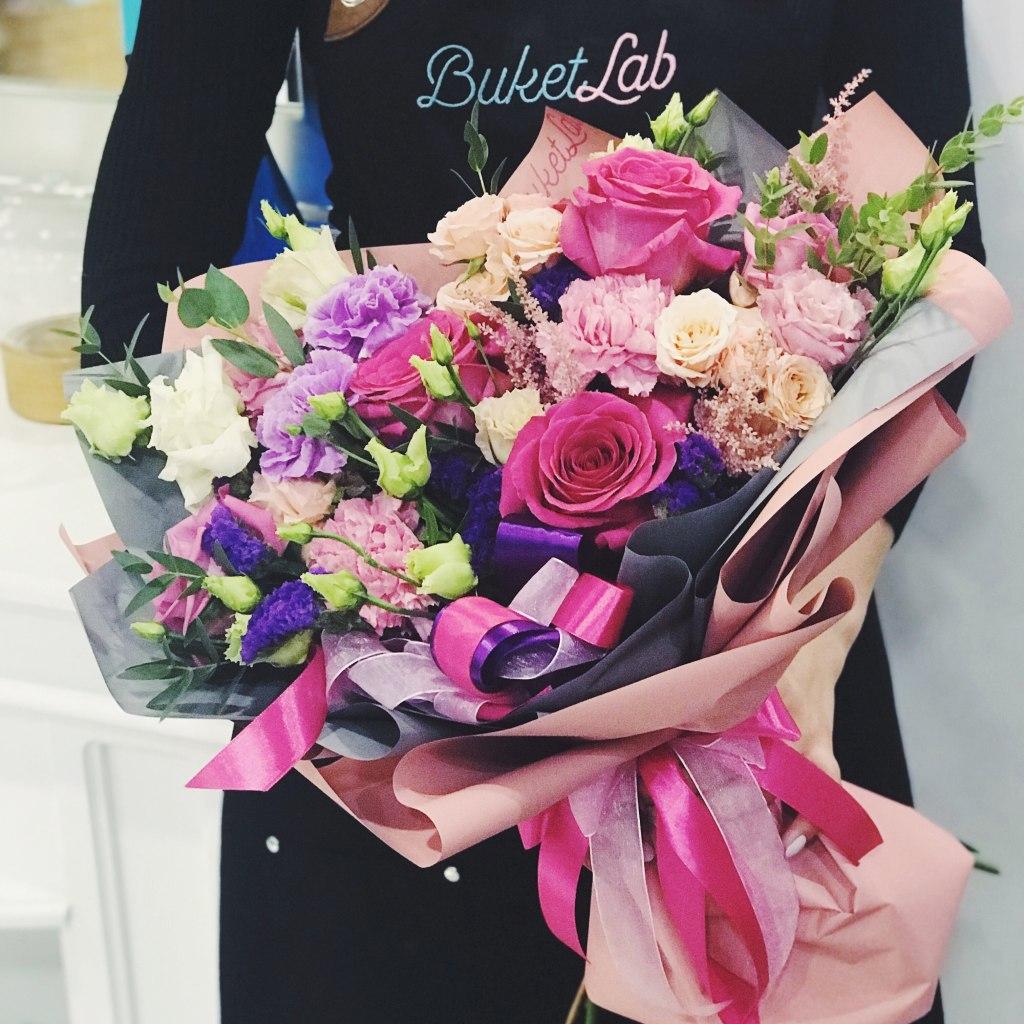 """Букет """"Розовый Пунш"""" 1"""