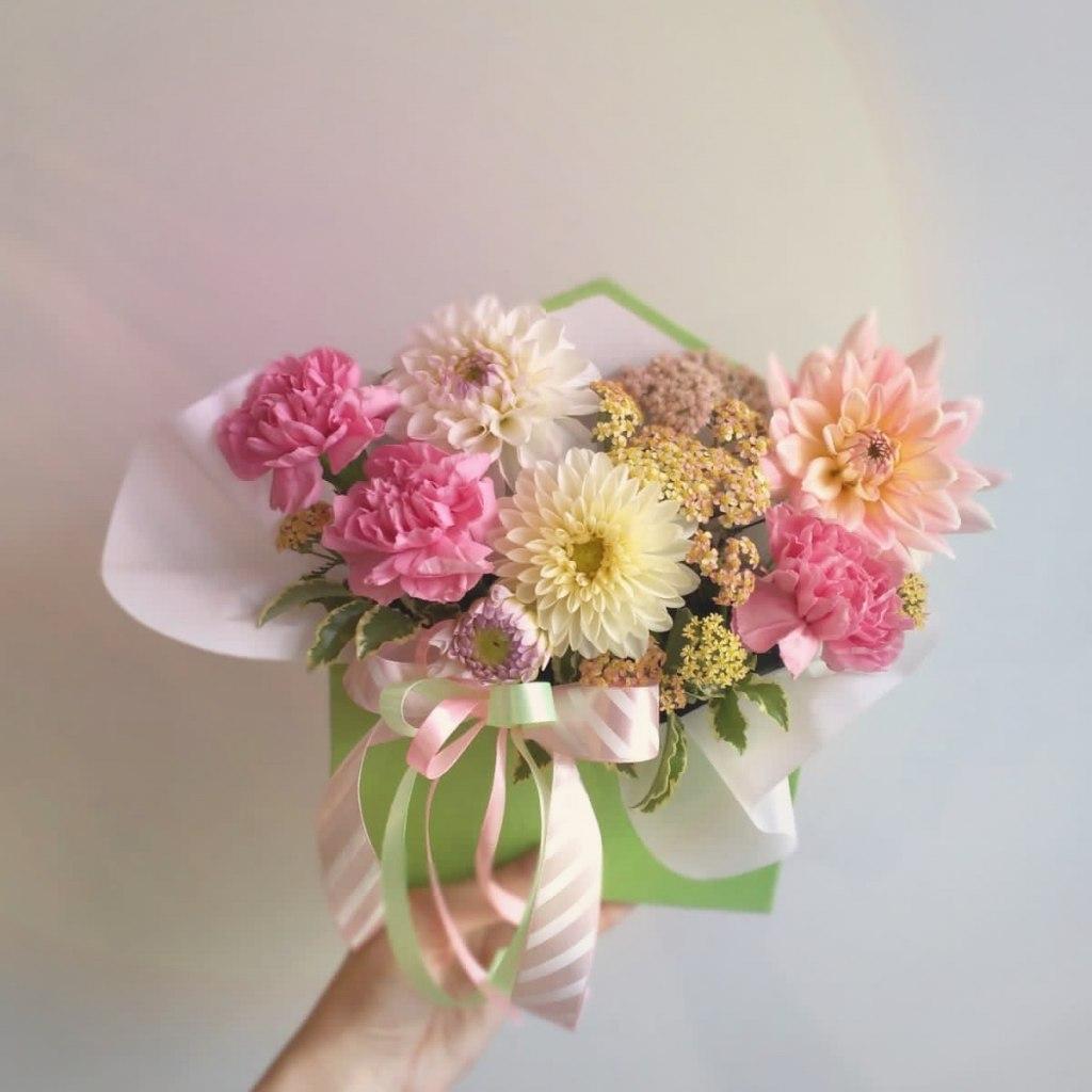цветы в конверте 4