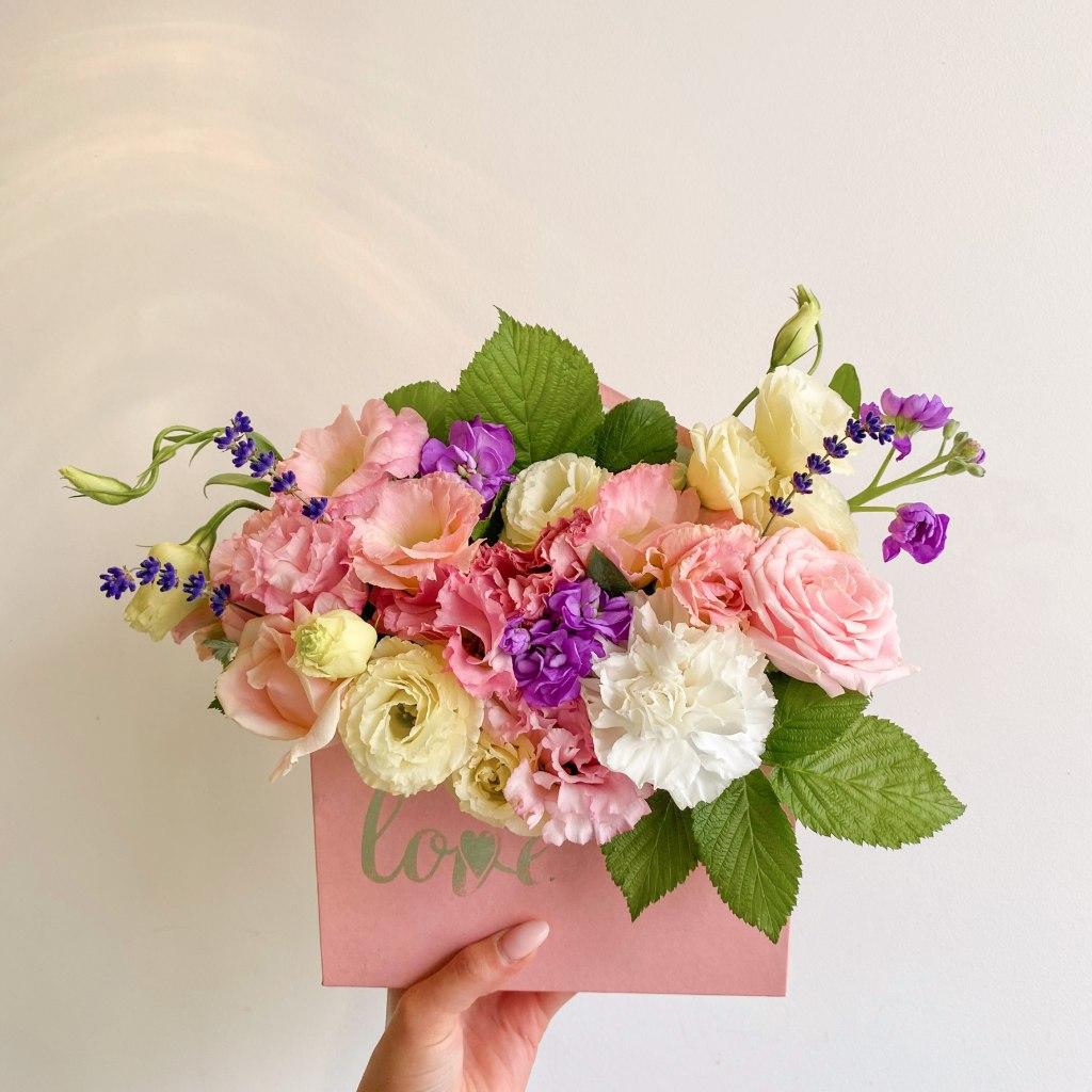 цветы в конверте 5